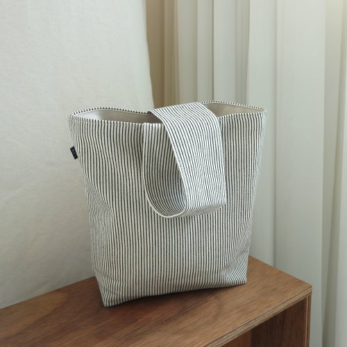 stripe totebag