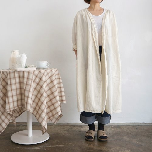 cotton shirring robe