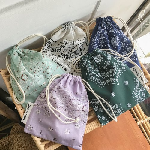 bandana mini pouch _ 5 color