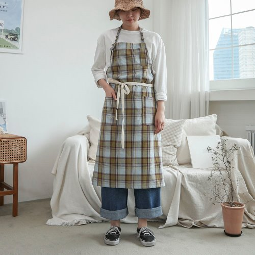 tidy check apron