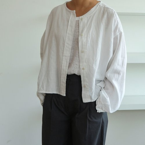 linen cardigan _ 2 color